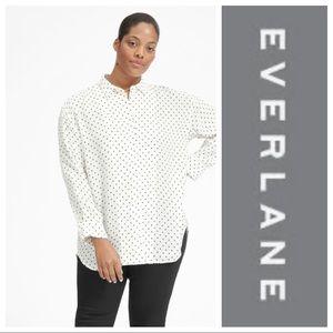 NWT Everlane Polka Dot Shirt